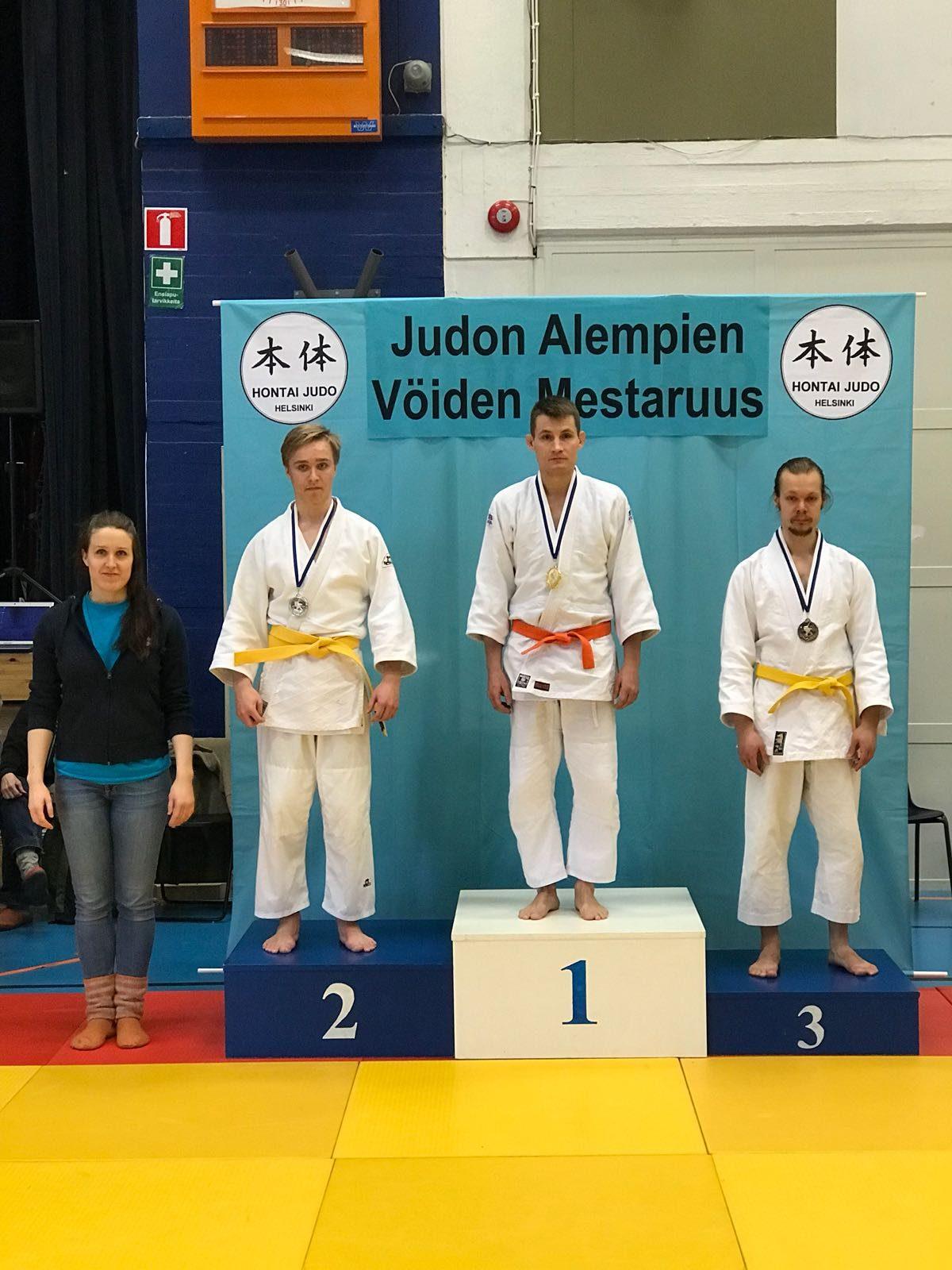 EJK:n Joonalle pronssia alempien vöiden SM-kisoista