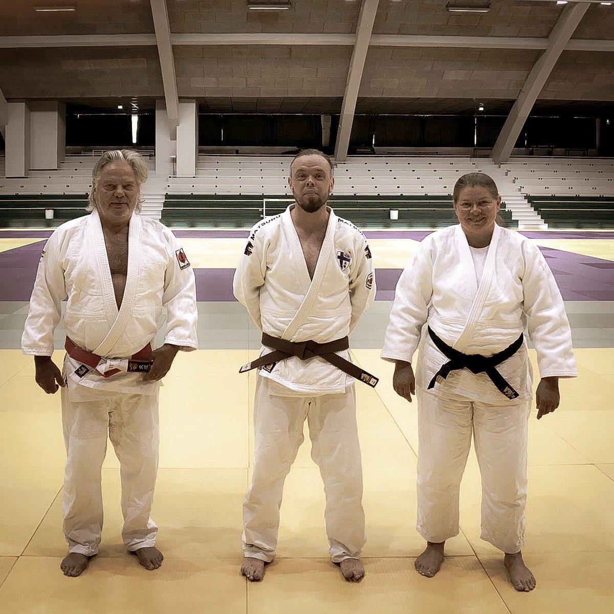 Vyöarvon korotus Helsinki Judo Campilla